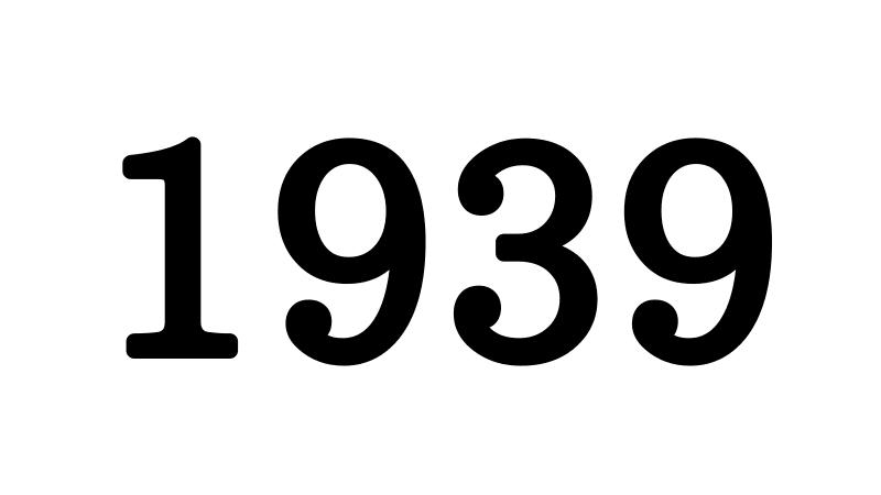 1939年